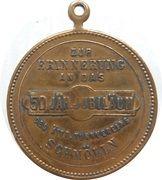 Medal - Friedrich Ludwig Jahn – reverse