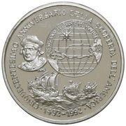 1 oz Silver (PAMP - Christopher Columbus) – obverse