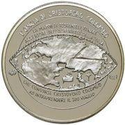 1 oz Silver (PAMP - Christopher Columbus) – reverse