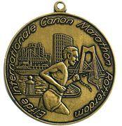 Medal - 11th Canon Marathon Rotterdam – obverse