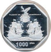 1000 Pesetas – reverse
