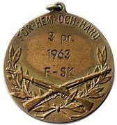 Medal - För Hem Och Härd – obverse