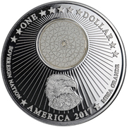 1 Dollar (Apache Nation) – obverse