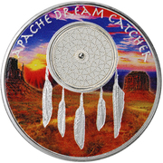 1 Dollar (Apache Nation) – reverse