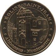 Monnaie de Paris Tourist Token - Abbesses - Montmartre (Eglise Saint-Jean) – obverse