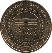 Monnaie de Paris Tourist Token - Abbesses - Montmartre (Eglise Saint-Jean) – reverse
