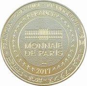 Monnaie de Paris Tourist Token - Dreux (le Beffroi) – reverse