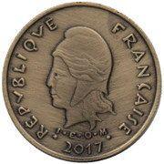 100 Francs (L'Île-aux-Mar) – obverse