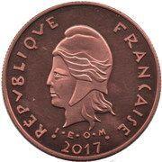 100 Francs (Île aux Pigeons) – obverse