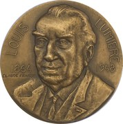 """Medal - Compagnie Maritimes des Chargeurs Réunis """"Louis Lumière"""" – obverse"""