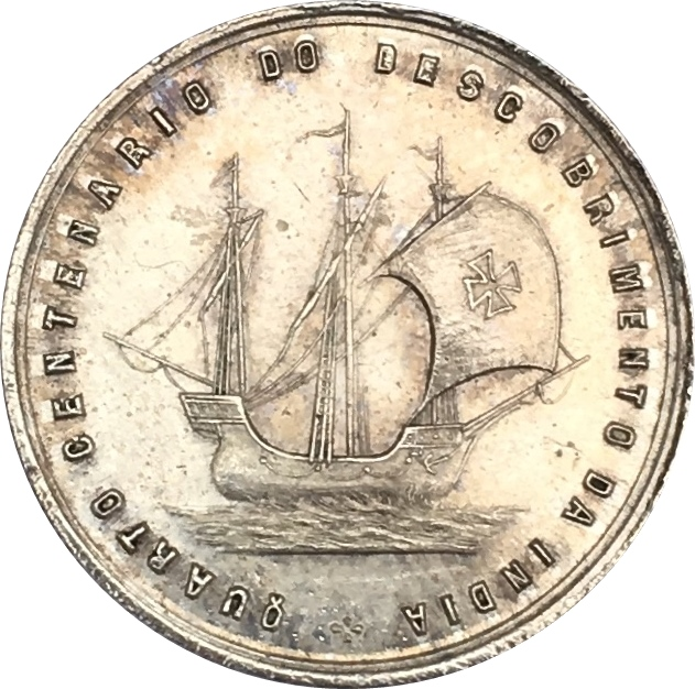 Medal - Vasco da Gama (400 years of discovery of sea passage to