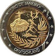 2 Euro (Germany Euro Fantasy Token; Olympic Games in Rio de Janeiro) – obverse