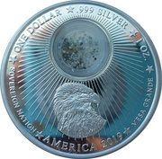 1 Dollar (50th Anniversary Moon Landing) – obverse