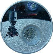1 Dollar (50th Anniversary Moon Landing) – reverse