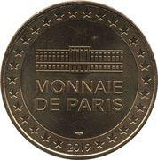 Monnaie de Paris Tourist Roken - Hiver 2019 – reverse