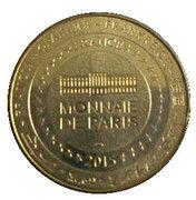 Monnaie de Paris Tourist Token - Sancerre (Route Jacques cœur en Berry) – reverse