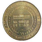 Monnaie de Paris Tourist Token - Le Havre (10 ans patrimoine mondial) – reverse
