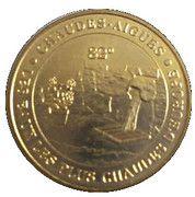 Monnaie de Paris Tourist Token - Chaudes Aigues (Les eaux les plus chaudes d'Europe) – obverse