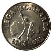 5 Lire (Lega Lombarda) – obverse