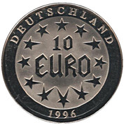 10 Euro (Europa) – obverse