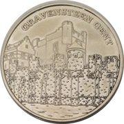Belgian Heritage Collectors Coin - Gravensteen Gent – obverse