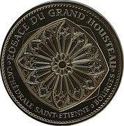 Monnaie de Paris Tourist Token - Cathédrales de Bourges – obverse