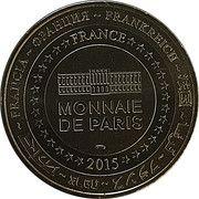 Monnaie de Paris Tourist Token - Cathédrales de Bourges – reverse
