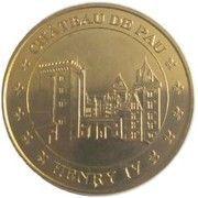 Monnaie de Paris Tourist Token - Château de Pau Henry IV – obverse