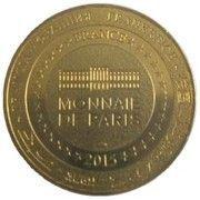 Monnaie de Paris Tourist Token - Château de Pau Henry IV – reverse