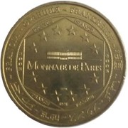 Monnaie de Paris Tourist Token - Château de Pierrefonds – reverse