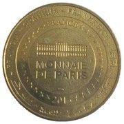 Monnaie de Paris Tourist Token - Rosace du grand housteau (Cathédrale sainte Étienne Bourges) – reverse