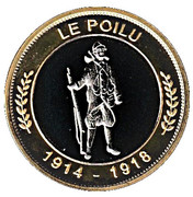 Token - Nemery & calmejane (Verdun - Le Poilu) – obverse