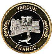 Token - Nemery & calmejane (Verdun - Le Poilu) – reverse