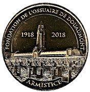 Monnaie de Paris Tourist Token - Ossuaire de Douaumont – obverse
