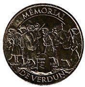 Monnaie de Paris Tourist Token - Memorial de Verdun – obverse
