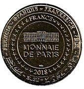 Monnaie de Paris Tourist Token - Memorial de Verdun – reverse
