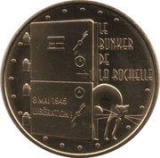 Monnaie de Paris Tourist Token - Le bunker de La Rochelle – obverse