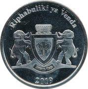 5 Rand (Lion) – obverse