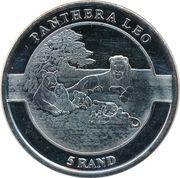 5 Rand (Lion) – reverse
