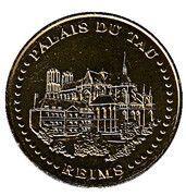Monnaie de Paris Tourist Token - Reims (Palais de Tau) – obverse
