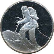 Medallion - Postmasters (25th Anniversary of the ascent of Mt. Everest) – obverse