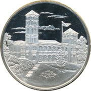 Medallion - Postmasters (25th Anniversary of the Coronation of Queen Elizabeth II) – obverse