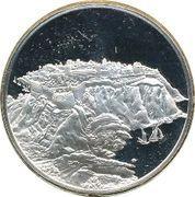 Medallion - Postmasters (Prince Florestan I of Monaco) – obverse