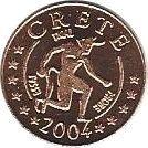 1 Cent (Crete Euro Fantasy Token) – obverse