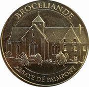 Monnaie de Paris Tourist Token - Abbaye de Paimpont – obverse