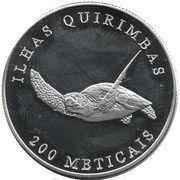 200 Meticais (Quirimbas islands) – reverse