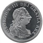 5 Shillings - George III (INA Retro Fantasy issues) – obverse