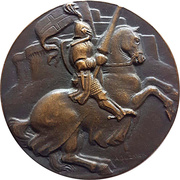 Medal - Syria – reverse