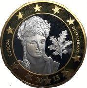 5 Euro (Germany Euro Fantasy Token) – obverse