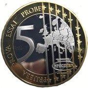 5 Euro (Germany Euro Fantasy Token) – reverse
